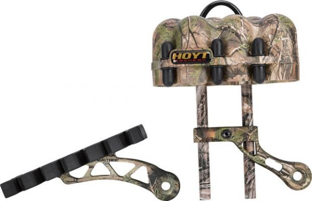 Hoyt Shock Rod Arrow Rack 2 Piece Quiver
