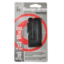 Savage Arms Savage 10-Round Magazine for Savage and Lakefield 93, 502, and 503 Series 22 WMR and 17 HMR