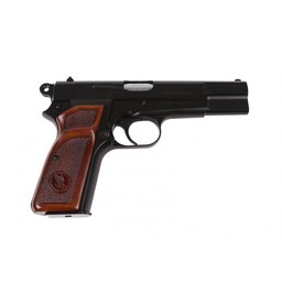Tisas Canuck Hi-Power 9mm Single Action Walnut Grips 2 Magazines