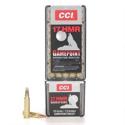 CCI 17 HMR  Gamepoint 20 Grain Jacketed Soft Point