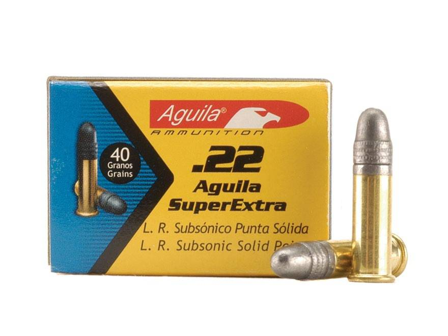 Aguila Aguila .22LR  (500 Count) Lead Round Nose Subsonic Brick