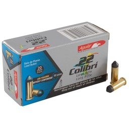 Aguila .22LR Colibri 20 Grain (50 Count) 420 FPS