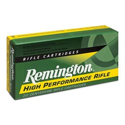 Remington Remington High Performance Rifle Centerfire Ammunition (20-Rounds)