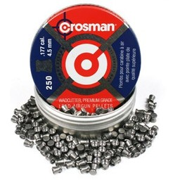 Crosman .177 Wadcutter Competition Pellets (250-Count)