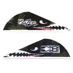 "Bohning Blazer 2"" Flying Tiger Shark Vane (36-Count)"