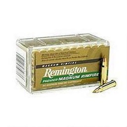 Remington Premier Magnum Rimfire 17 HMR 17 Grain AccuTip-V Boat Tail (50-Count)