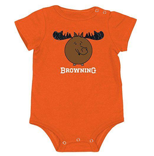 Browning Baby Chipmunk Bodysuit Triggers Bows
