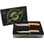 Uncle Henry Uncle Henry Fixed Blade Knife Set w/ Wood Handles and Collectors Tin