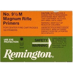 Remington 9 1/2M Magnum Centerfire Rifle Primers (100-Count)