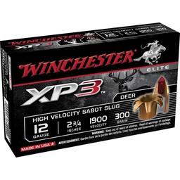 "Winchester XP3 12 Gauge 2 3/4"" Sabot 300 Grain"