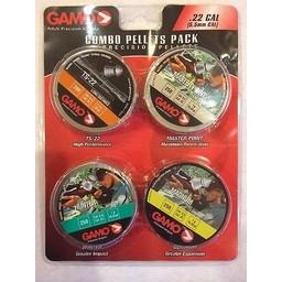 Gamo Combo Pellets Pack Precision Pellets .22 Cal.