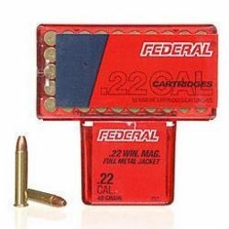 Federal Federal Champion Target .22 Win. Mag. 40 Grain FMJ (50-Count)