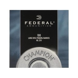 Federal Large Rifle Primers No. 210 (100-Count)