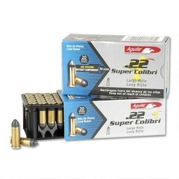 Aguila Aguila .22LR Super Colibri 20 Grain (500-Count) 590 FPS
