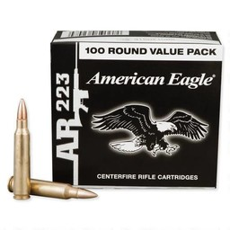 American Eagle MSR .223 Rem. 55 Grain FMJ 3240fps (100-Rounds)