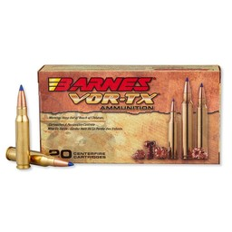 Barnes VOR-TX .308 Win. 150 Grain Tipped TSX BT (20-Rounds)