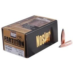 """Nosler Partition Bullets .30 Cal. 308"""" Diameter Spitzer 180 Grain (50-Count)"""