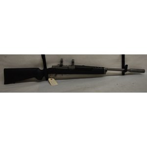 Ruger USED Ruger Mini-14 .223 / 5.56 Target Model w/ Hogue Stock, Stainless Heavy Barrel, and Harmonic Dampener