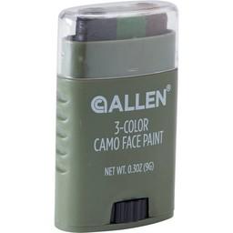 Allen 3-Color Camo Face Paint (Black/Brown)