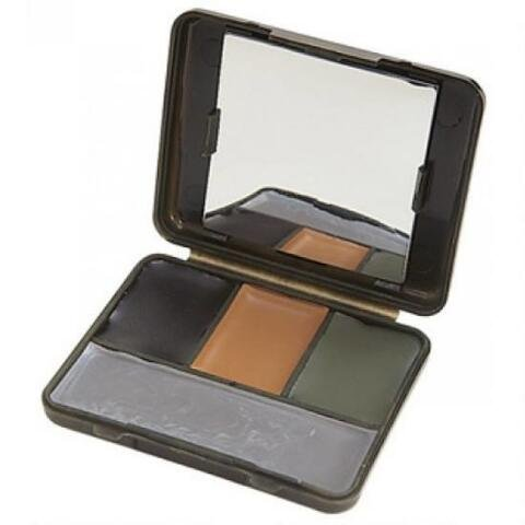 Allen 4-Color Face Paint Camo Compact