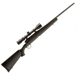 """Savage Arms Savage Axis XP 6.5 Creedmoor 22"""" Barrel Black Synthetic w/ Bushnell 3-9x40 Scope"""