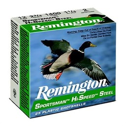 Remington Sportsman Hi-Speed Steel Shotgun Shells (25-Rounds)