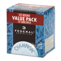 Federal Federal Champion .22LR 36 Grain Copper Plated Hollow Point Value Pack (525-Rounds)