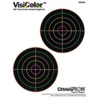 Champion Champion VisiColor 50 Yard Color Coded Sight-In Target (10-Pack)