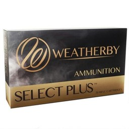 Weatherby Select Plus Centerfire Ammunition (20-Rounds)