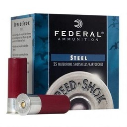 Federal Speed-Shok Shotgun Shells (25-Rounds)