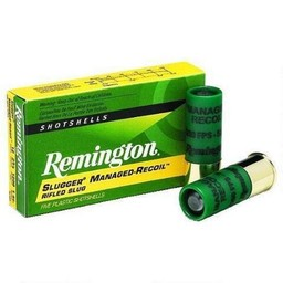 Remington Managed-Recoil Slugger Rifled Slugs (5-Rounds)