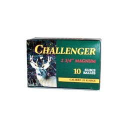 Challenger Magnum Shotgun Slugs (10-Rounds)