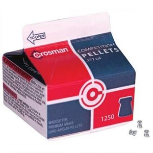 Crosman Crosman Competition Pellets .177 Cal. Wadcutter Carton (1250-Count)