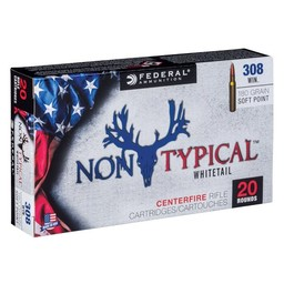 Federal Non Typical Whitetail Centerfire Ammunition (20-Rounds)