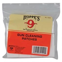 Hoppe's Bulk Cotton Gun Cleaning Patches 12/16 Gauge (300-Patches)