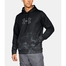Under Armour Faded Caliber Hoodie Black