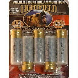 "Lightfield 12 Gauge 2 3/4"" Wildlife Control Rubber Buckshot (5-Count)"