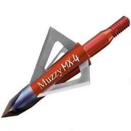 "Muzzy MX-4 100 Grain 1 1/8"" Cut Broadheads (3-Pack)"