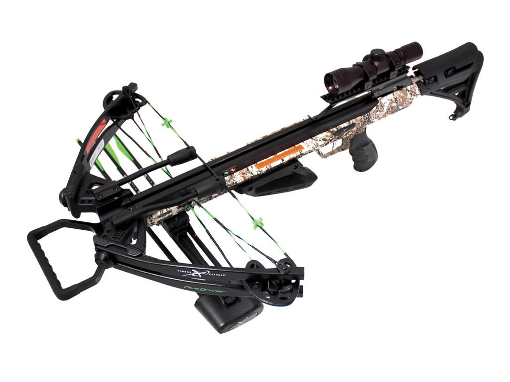 Carbon Express PileDriver Crossbow Kit w/ Crank 390FPS