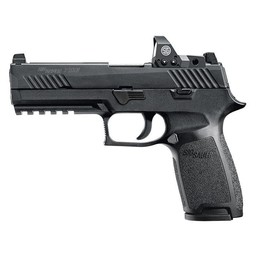 "Sig Sauer P320 RX 9mm 4.7"" Barrel Black Romeo1 Sight"