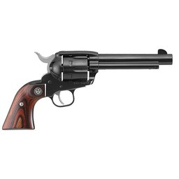 "Ruger Vaquero Revolver .357 Mag. 5.5"" Barrel Hardwood Grips"
