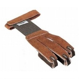 Neet Tan Suede Archery Glove Extra Small