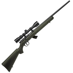 "Savage Arms Savage Mark II XP .22LR 21"" Barrel OD Green Stock w/ Scope"