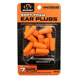 Walker's Game Gear Walker's Soft Foam Ear Plugs