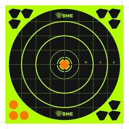 Shooting Made Easy SME Hi-Vis Self-Adhesive Reflective Targets (6-Count)