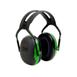 Peltor Peltor 3M X1A Green/Black Earmuff Hearing Protection