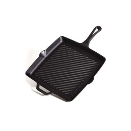 "Camp Chef 11"" Square Cast Iron Skillet w/ Ribs"
