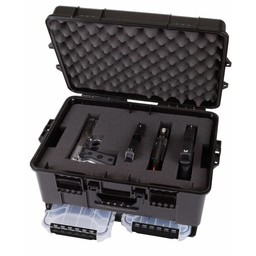 Flambeau Outdoors Flambeau Stackhouse Series Pistol Case w/ Storage Cage