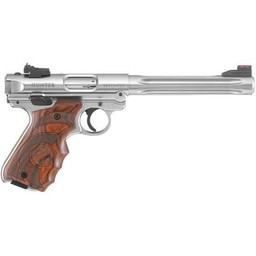Ruger Mark IV Hunter .22LR Target Laminate Grips Stainless Barrel