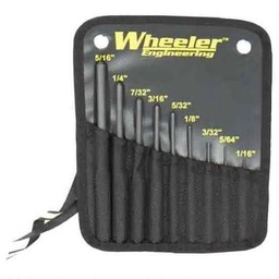 Wheeler Wheeler 9-Piece Roll Pin Punch Set